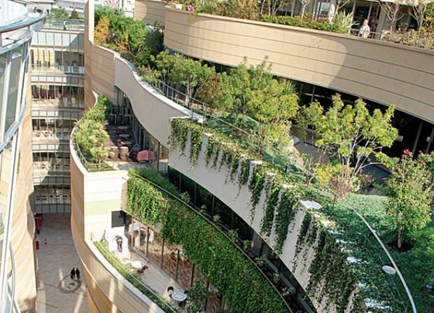 """【旅途】屋顶绿化:风景园林中的""""别动队"""""""