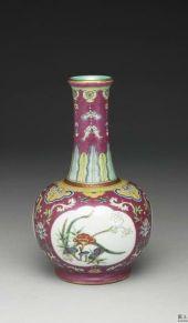 台北故宫藏珐琅彩瓷器