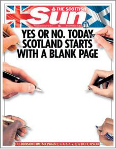 【视觉】英国10家报纸头版PK
