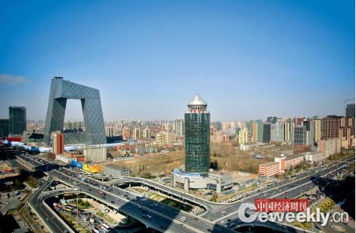 位于北京CBD 的恒天集团总部大楼《中国经济周刊》记者 肖翊I 摄