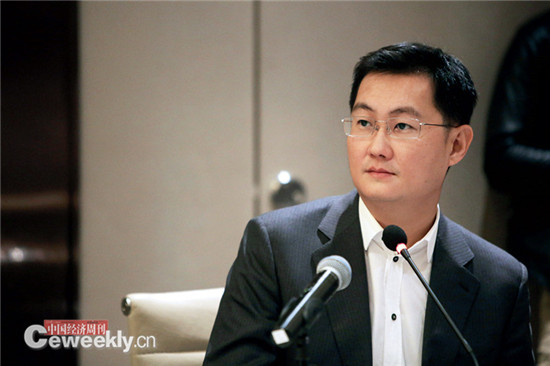 p041 腾讯公司董事会主席兼首席执行官马化腾《中国经济周刊》记者 肖翊 摄