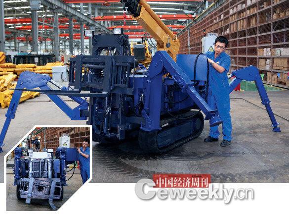 p49 新兴移山自主研发的多功能智能工具机器人《中国经济周刊》记者 肖翊I 摄