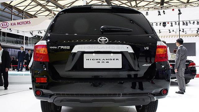 丰田汉兰达碰撞测试被指作弊 中汽中心否认