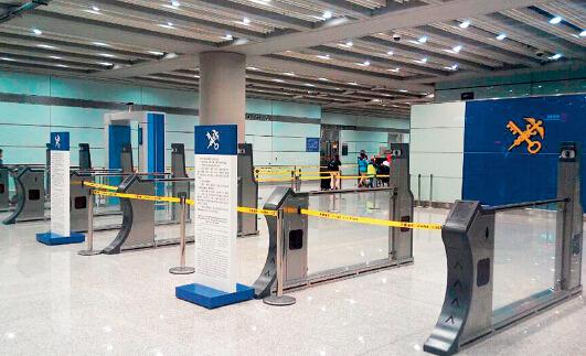 p41 首都机场海关旅客重点行李识别系统