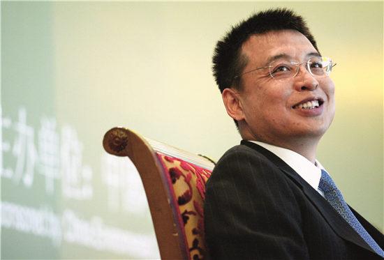 p35-环保部副部长潘岳于近日出任环保部党组副书记,填补了这一职位8 年来的空缺。CFP