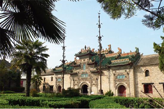 p20-3+亳州市国家重点文物保护单位——花戏楼外景