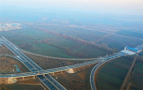 p42-1合徐高速和泗许高速贯穿淮北市全境。