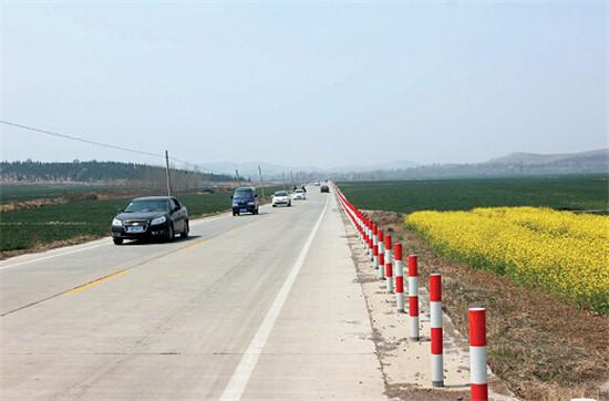 p43-3淮北市乡村公路通达四方。