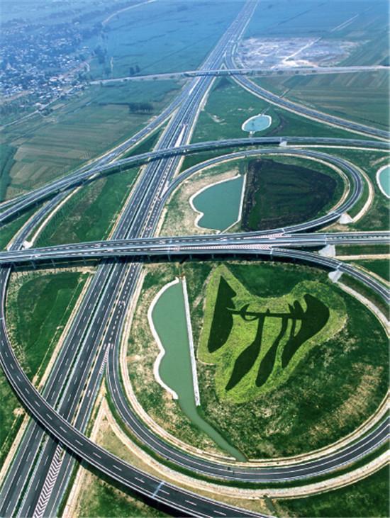 p46 宿州高速公路朱圩子立交桥