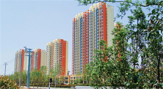 p90-1 阜阳合肥现代产业园建成的安置小区- 福和家园