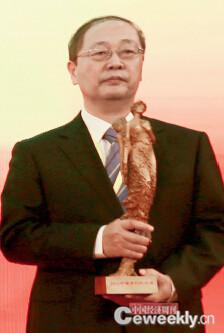 p082 领奖人:中国航天科工集团副总经理、党组成员魏毅寅