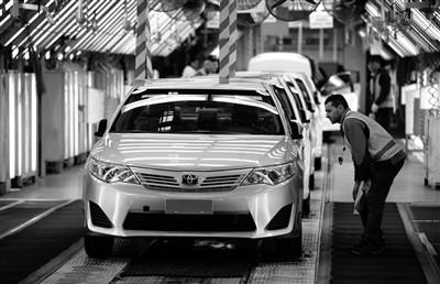 大众汽车生产车间