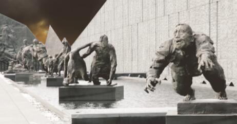 p84-侵华日军南京大屠杀遇难同胞纪念馆扩建工程主题雕塑之《逃难》