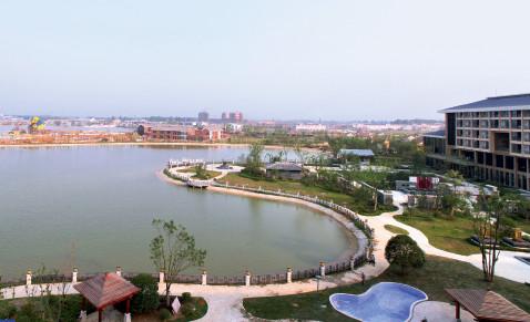 p72(2)六安集中示范园区文化产业区——悠然兰溪鸟瞰