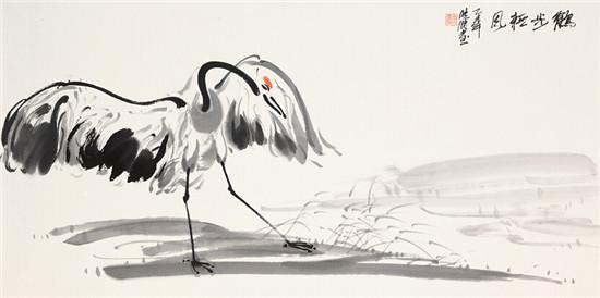 鹤的画法步骤