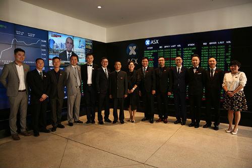 4鼎盛鑫中国高管团队在澳交所合影