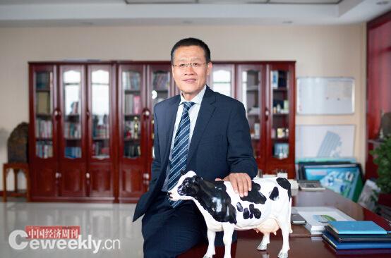 p45 君乐宝乳业董事长魏立华《中国经济周刊》视觉中心 首席摄影记者 肖翊 摄