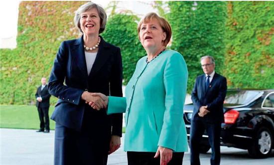 p83 英国新任首相特雷莎·梅在G20 杭州峰会期