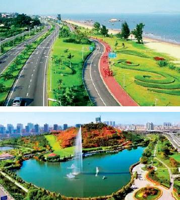 p50(2) 镇江市海绵城市建设现场鸟瞰图