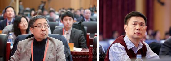 p14(1)中邮证券董事长宋英忠、中国邮政集团报刊发行局副局长戴建华出席论坛