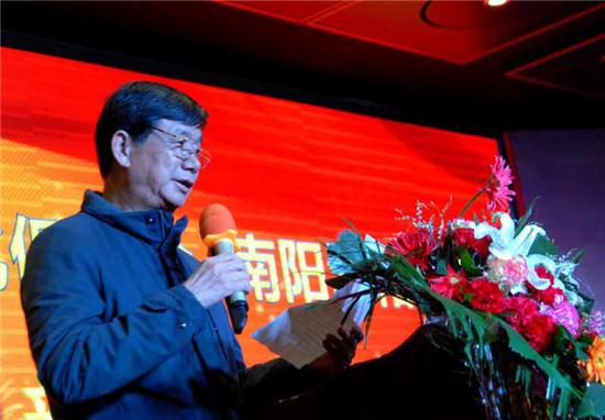 图片1文化促进会会长郭庆之发表新春贺词