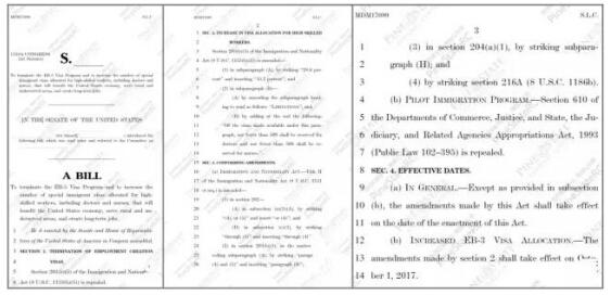 美国移民--世贸通:美国投资移民地震升级 EB-5关停草案出炉