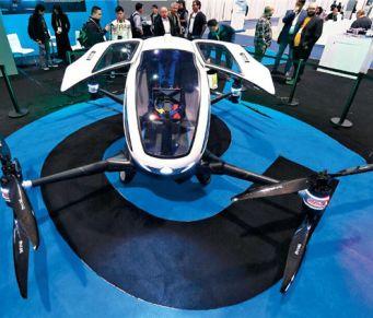 科技风向标CES展台上的中国风