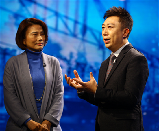 央视主持人陈伟鸿格力电器股份有限公司董事长董明珠