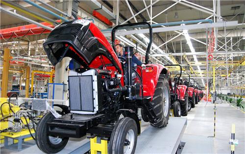 中国一推第三装配厂大轮拖生产线 常用图2