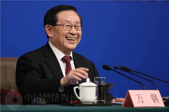 万钢 《中国经济周刊》视觉中心 首席摄影记者 肖翊 摄