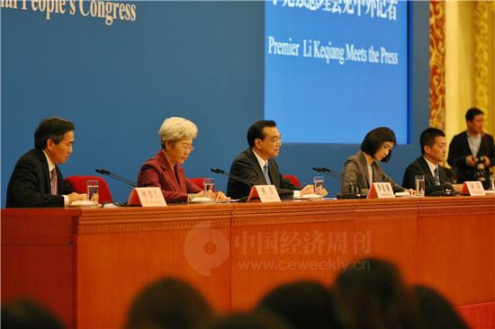 国务院总理李克强4 《中国经济周刊》视觉中心 首席摄影记者 肖翊 摄
