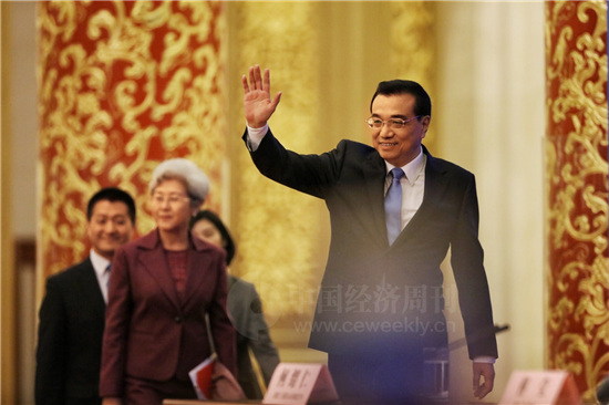 国务院总理李克强2 《中国经济周刊》视觉中心 首席摄影记者 肖翊 摄