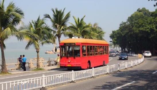 银隆铛铛车已然成为珠海的一道风景