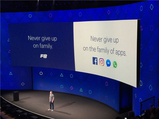 Facebook 年度全球开发者大会F8在美国圣何塞市举行