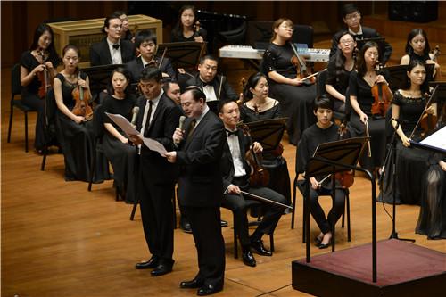 中国音乐家协会主席,北京现代音乐节艺术总监叶小纲与中央音乐学院