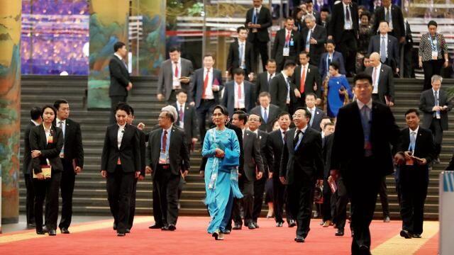 """""""一带一路""""国际合作高峰论坛影像"""