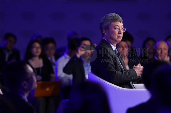朱民 中国经济周刊首席摄影记者 肖翊 摄