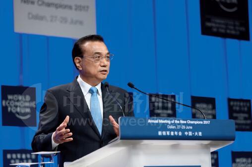 22-1 在致辞中,李克强总理表示,当今时代,推动包容性增长,必须坚定维护经济全球化。