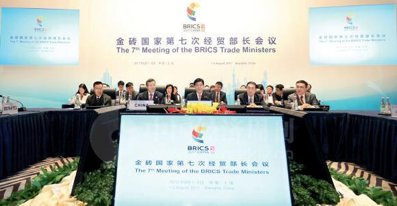 p19-8月1日到2日,第七届金砖国家经贸部长会议在上海召开。《中国经济周刊》首席摄影记者 肖翊 摄