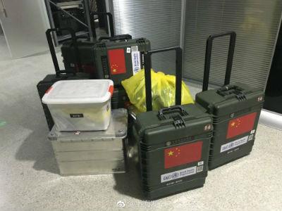 """据""""上海发布"""":上海50人应急医疗队所带物资"""
