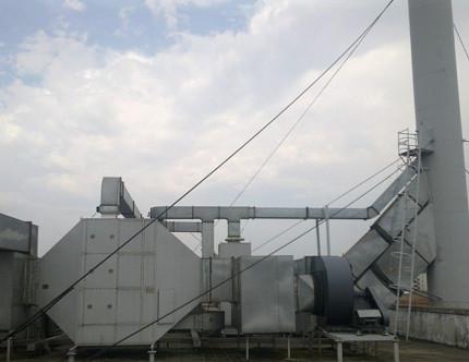 p74(2) 有机废气净化装置,可以用于处理各类行业生产中产生的废气。