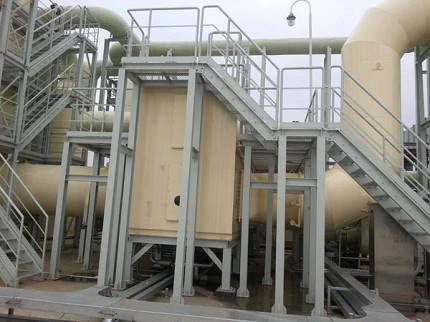 p74(3) 工业有机废气分子筛转轮吸附浓缩+热氧化处理设备。