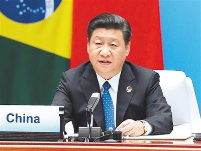 9月5日,国家主席习近平在厦门国际会议中心主持新兴市场国家与发展中国家对话会并发表重要讲话。新华社记者 马占成摄