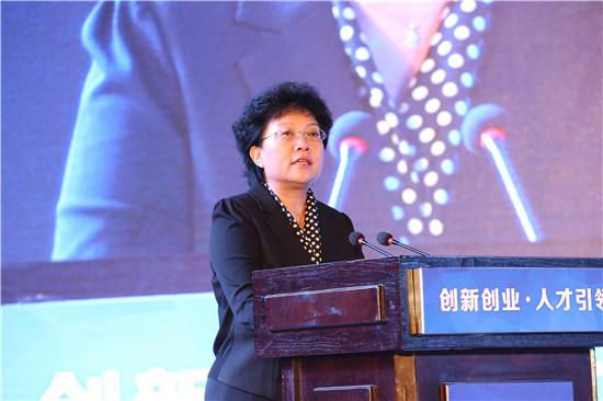 重庆市委常委、组织部长曾庆红宣布2017国创会暨创响中国重庆站活动开幕   夏一仁摄