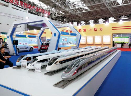 79-2 中国高铁成中阿博览会亮丽风景