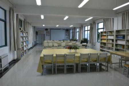 书院学习中心。供图 甘肃民族师范学院学生处