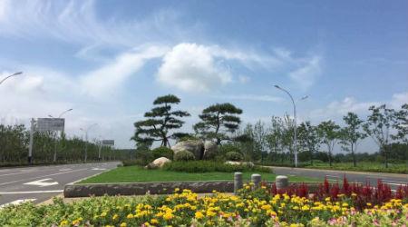 4、苏滁现代产业园区内的徽州路
