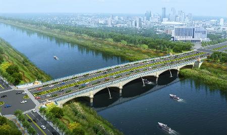 5、苏滁现代产业园区的琅狮大桥