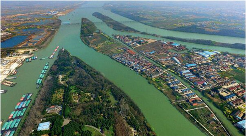 73 江苏省规划将江淮生态经济区打造成为最有生态价值、生态优势、生态竞争力的地区。视觉中国