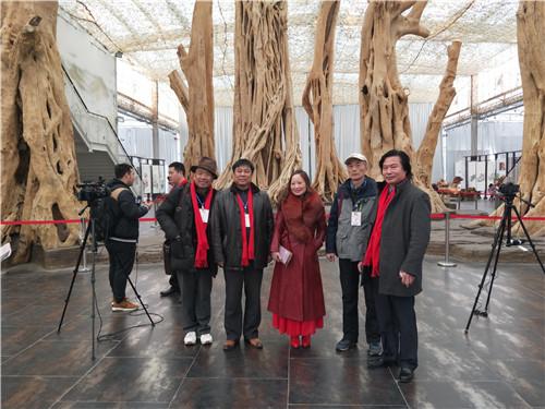 北京电视台等媒体现场采访报道全国书画名家巡回展
